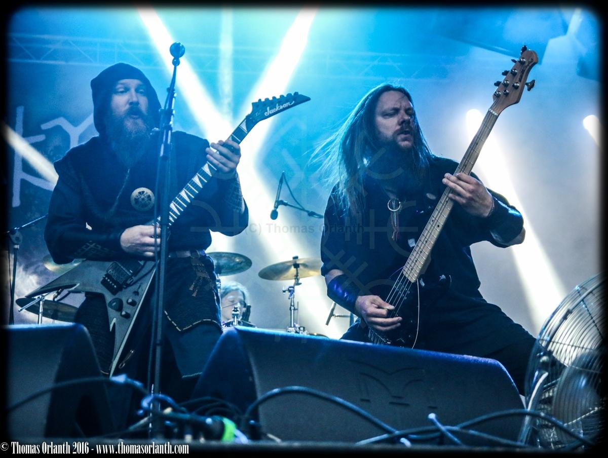 Skyforger au Ragnard Rock Fest 2016