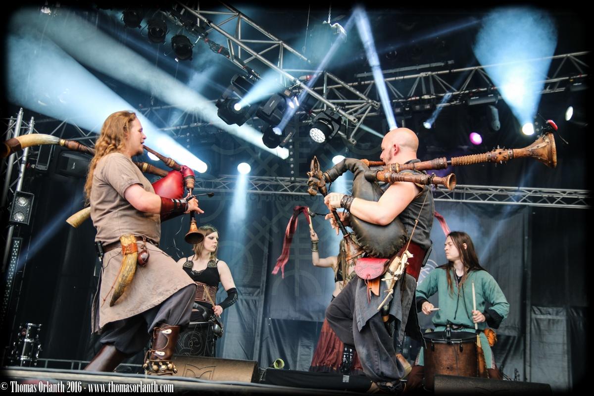 Acus Vacuum au Ragnard Rock Fest 2016 (samedi)