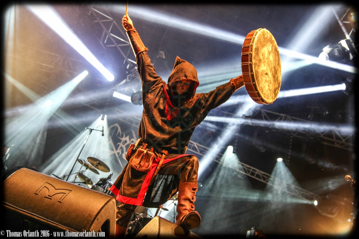 Graveland au Ragnard Rock Fest 2016