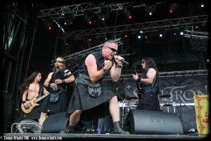 Skiltron au Ragnard Rock Fest 2016