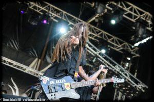 Azziard au Ragnard Rock Fest 2016