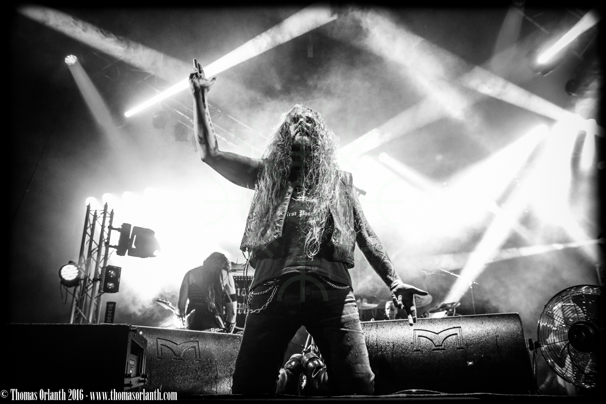 Nargaroth au Ragnard Rock Fest 2016