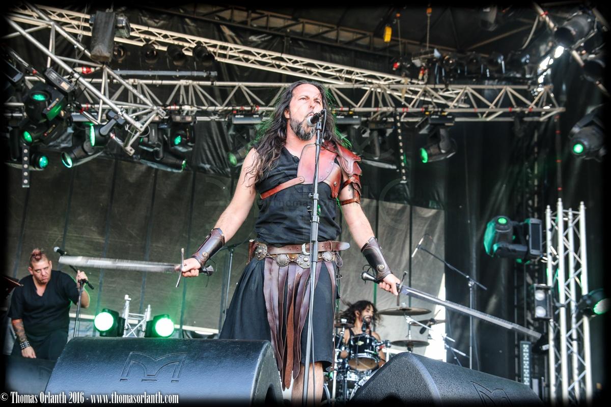 Sangdragon au Ragnard Rock Fest 2016