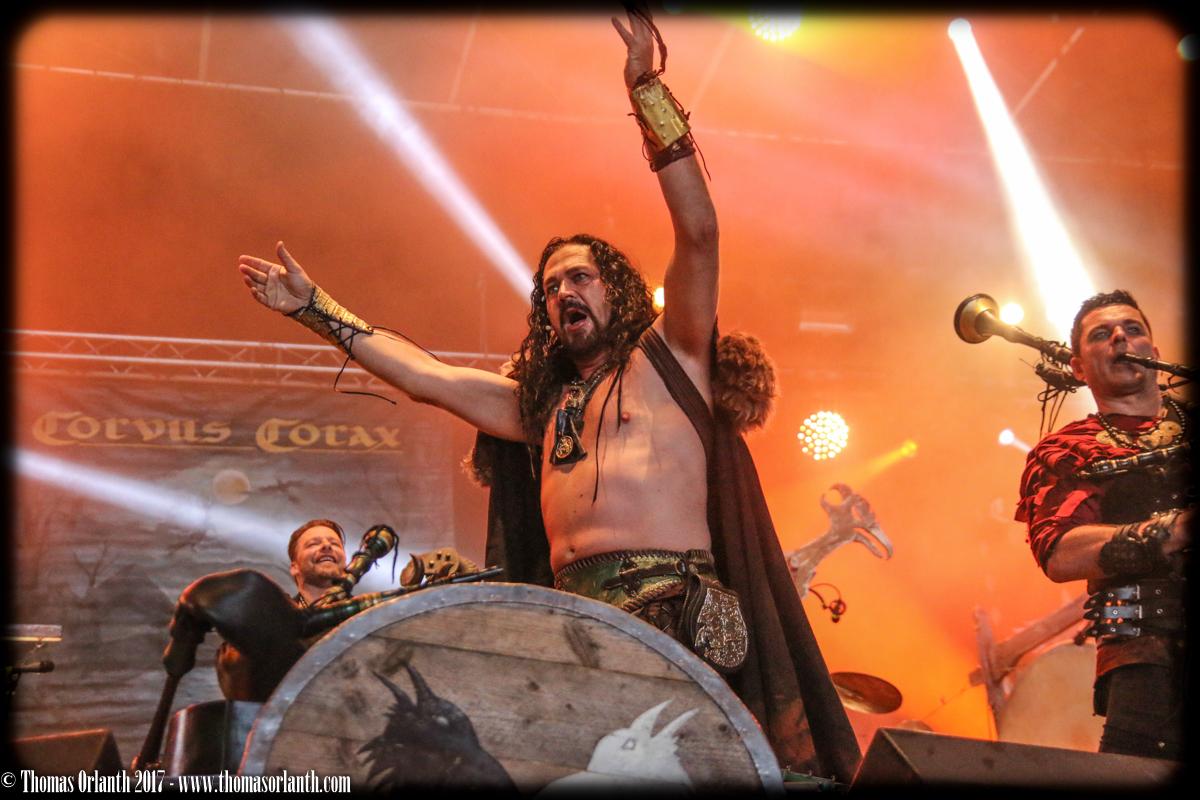 Corvus Corax au Hellfest 2017 (vendredi)