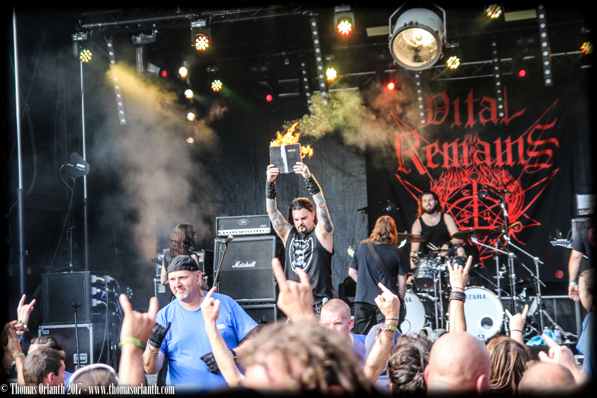 Vital Remains au Motocultor 2017