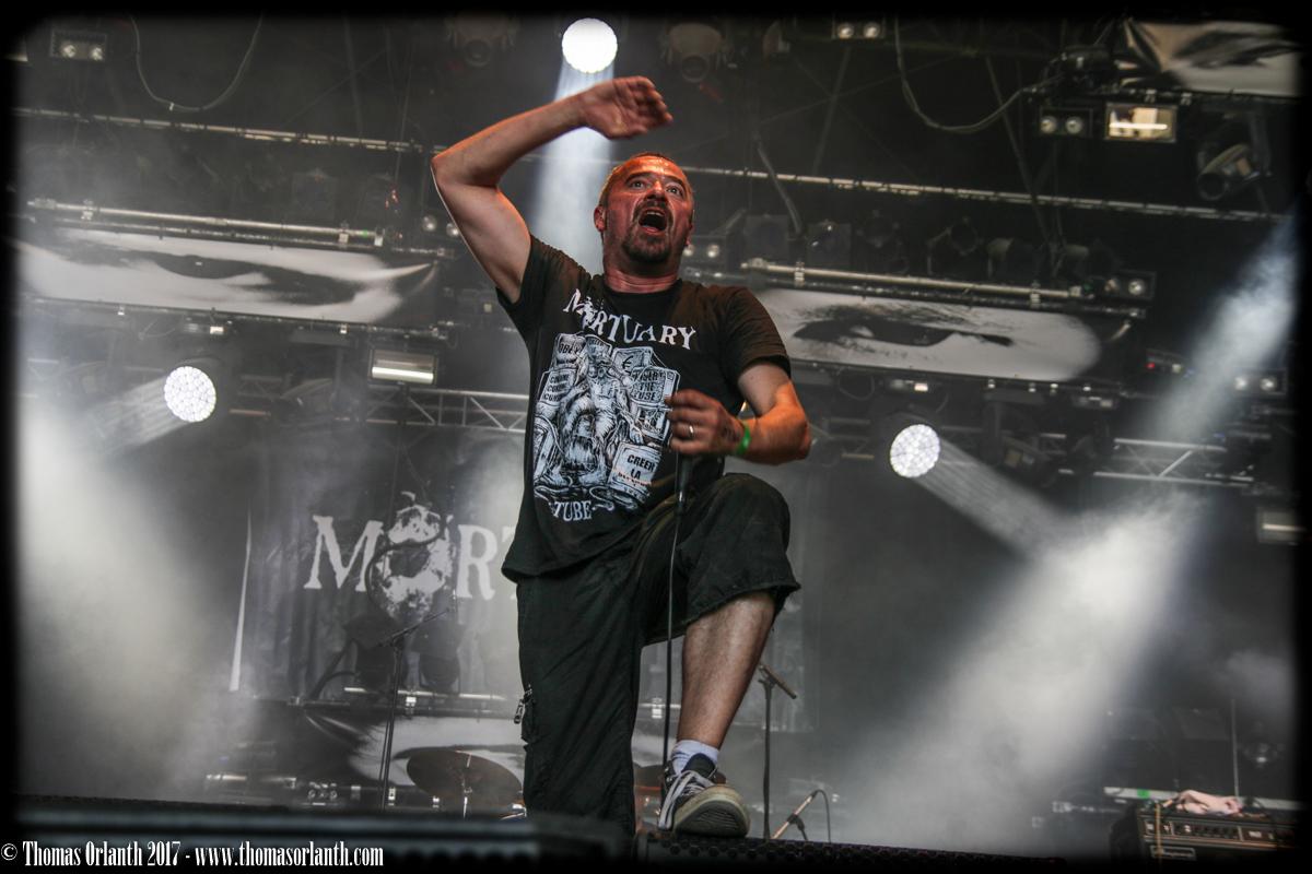 Mortuary au Hellfest 2017 (dimanche)