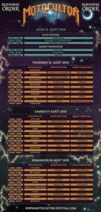 Motocultor – 15 au 18 août 2019 – l'affiche !